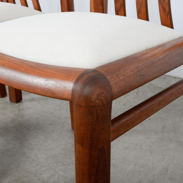 1970s Danish Modern Teak Dining Chairs, Set of Five For Sale 12
