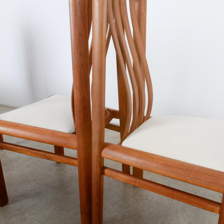 1970s Danish Modern Teak Dining Chairs, Set of Five For Sale 1