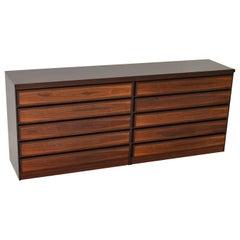 1970s Danish Vintage Wood Sideboard