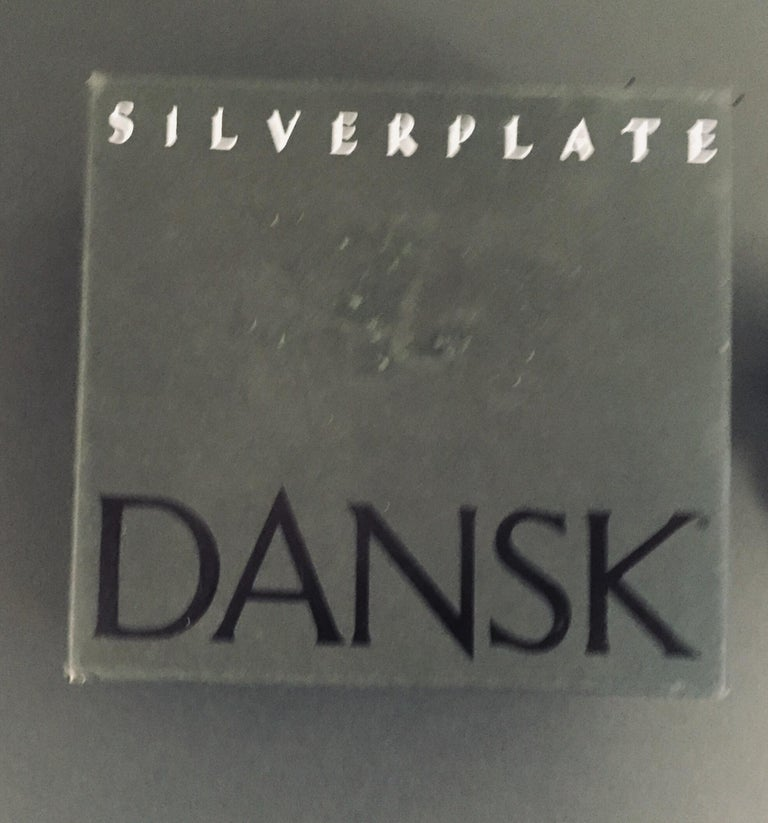 1970s Dansk Animals Paperweights Silver Plated by Gunnar Cyren For Sale 5