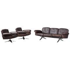 1970s De Sede Sofa Set Model DS31