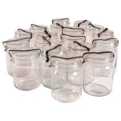 1970s Decorative French Preserving Jars