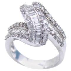 1970s Diamond Gold Ring