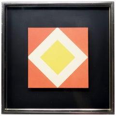 1970s Diamond Op Art by Turner