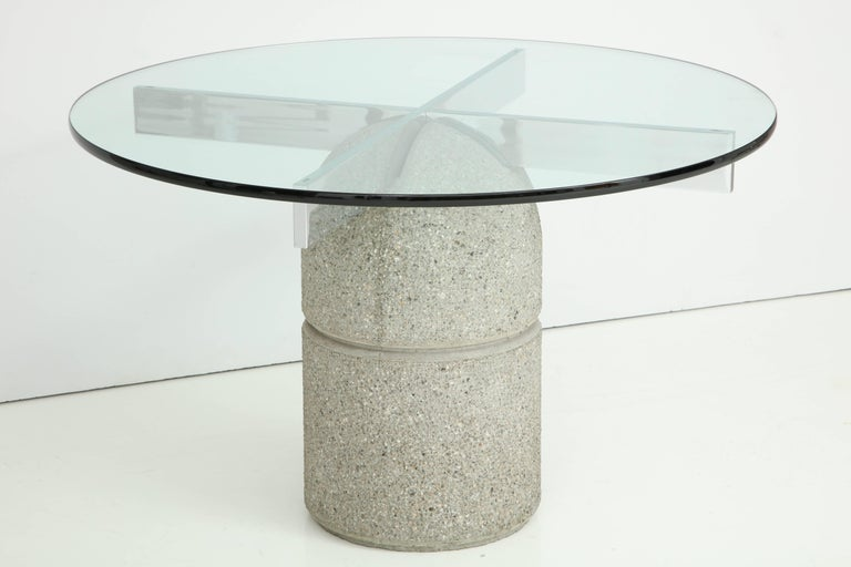 1970s Dining Table Designed by Giovanni Offredi for Saporiti For Sale 1