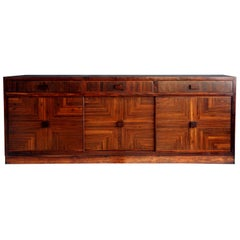 "1970s Don Shoemaker ""Parsons"" Credenza"