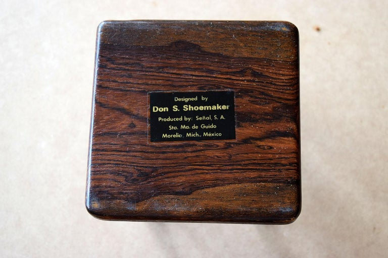 Mexican 1970s Don Shoemaker, Set of 6 Coasters For Sale