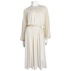 1970s Donald Brooks Jersey Dress