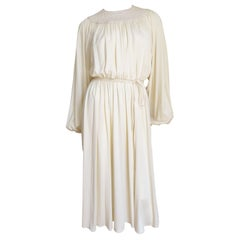 Donald Brooks 1970s Jersey Dress