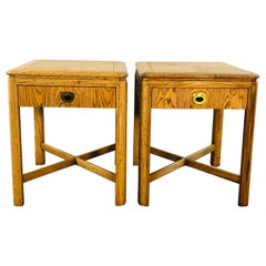 1970s Drexel Passage Side Tables, Pair