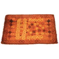 1970s Egerya Danish Midcentury Wool Rug