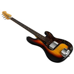 1970s Electric Vintage Jazz Bass Guitar from Luxor 100