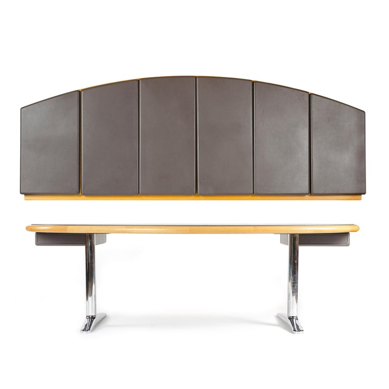 1970s Executive Office Desk by Warren Platner for Knoll For Sale