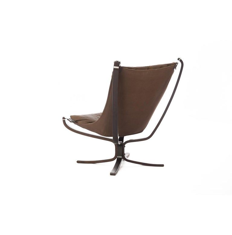 Danish 1970s Falcon Chair by Sigurd Ressell for Vatne Mobler For Sale