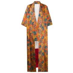 1970s Fancy Silk Kimono