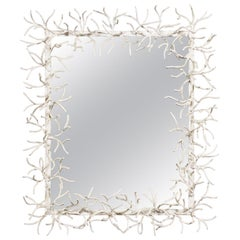 1970s Faux Coral Mirror