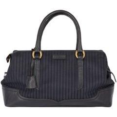 1970s Fendi Blue Handbag