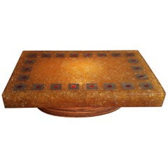 1970s Fractale Resin Coffee Table by Accolay