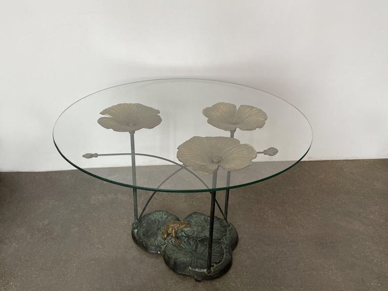 20th Century 1970's French Artisanal Coffee Table  For Sale