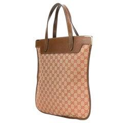 1970s Gucci Logo Tote Bag