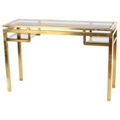 1970s Guy Lefevre Console Table