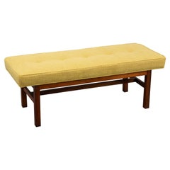 1970's Harvey Probber Style Newly Upholstered Bench