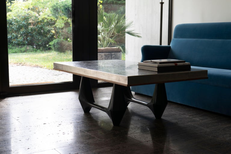 Mid-Century Modern 1970s Heinz Lilienthal Coffee Table 'd' For Sale