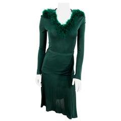 1970s Helga Howie Forest Green Knit Set