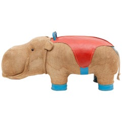 1970s High Quality Children Toy 'Hippo' by German Renate Müller 'd'