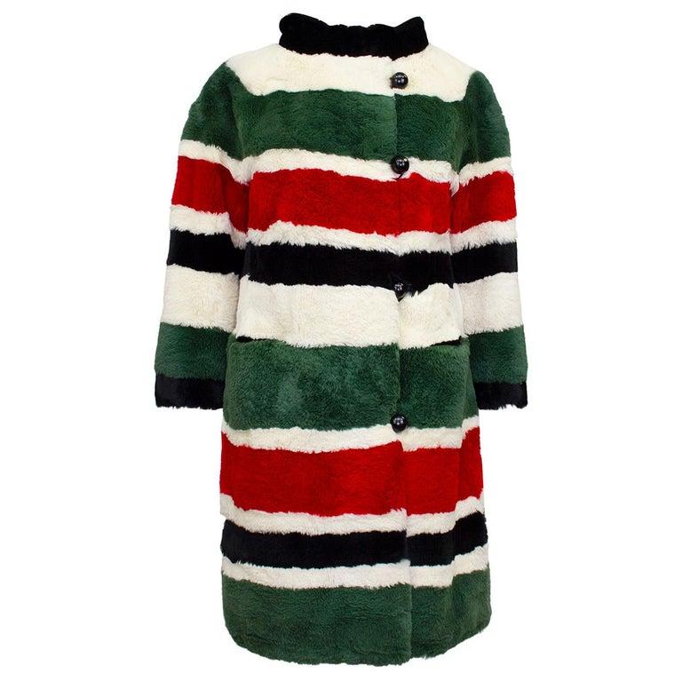 1970's I Magnin & Co. Sheared Beaver Mini Coat For Sale