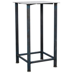 1970s Industrial French Side Table