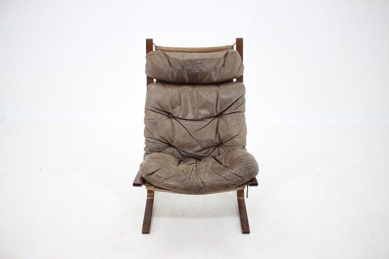 Mid-Century Modern 1970s Ingmar Relling Siesta Chair for Westnofa, Norway For Sale