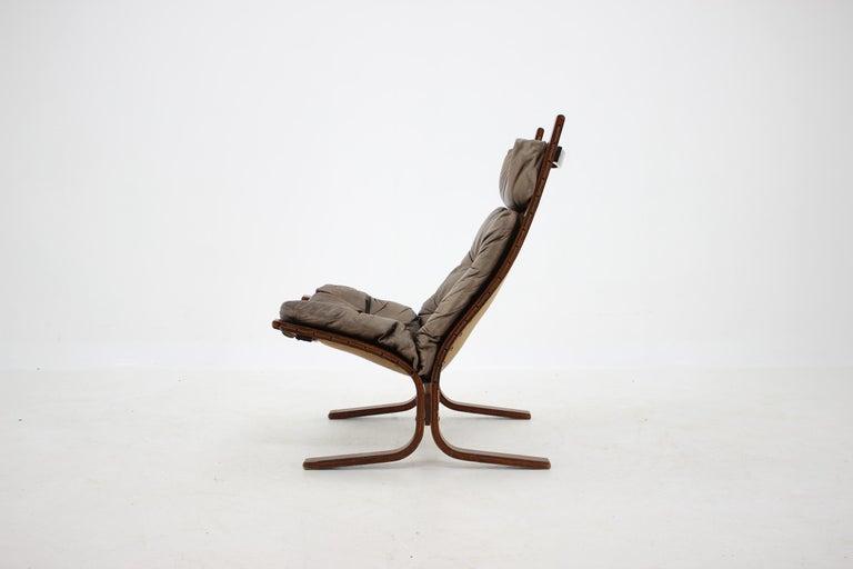 Norwegian 1970s Ingmar Relling Siesta Chair for Westnofa, Norway For Sale