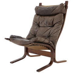 1970s Ingmar Relling Siesta Chair for Westnofa, Norway