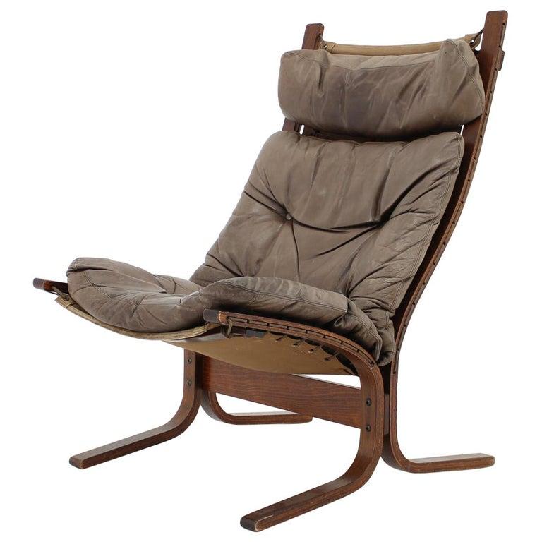 1970s Ingmar Relling Siesta Chair for Westnofa, Norway For Sale