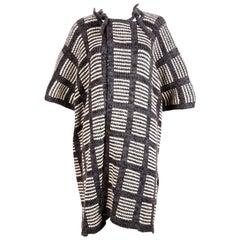 1970's ISSEY MIYAKE knit sweater coat