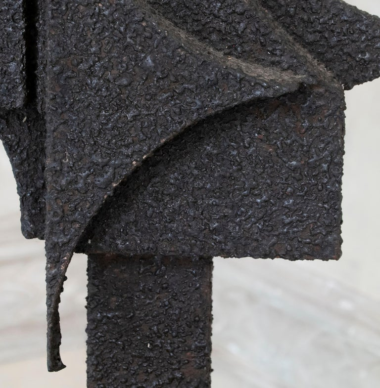1970s Italian Abstract Steel Sculpture By Antonio Murri 5