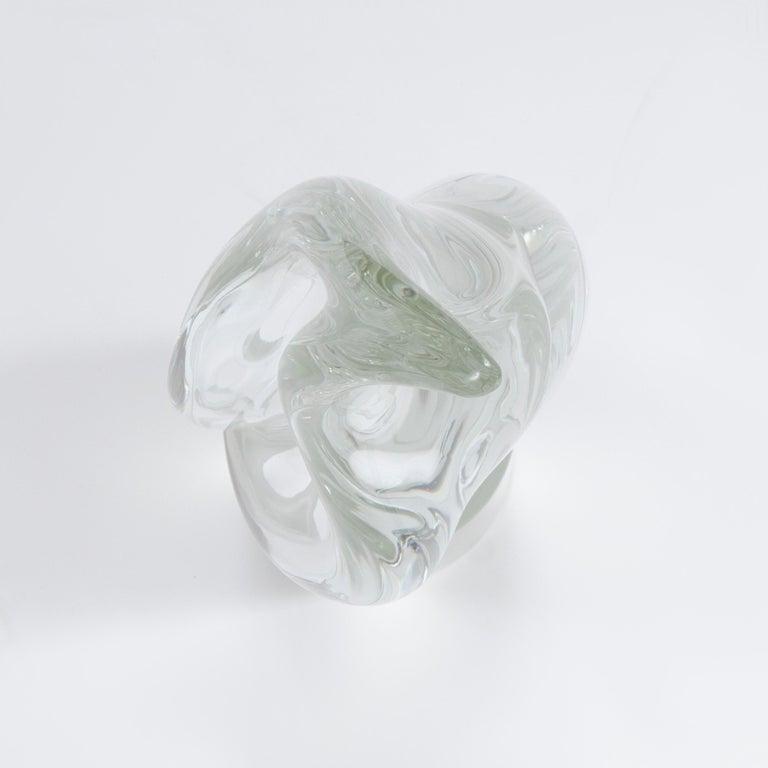 Art Glass 1970s Italian Amorphic Murano Glass Sculpture by Livio Seguso For Sale