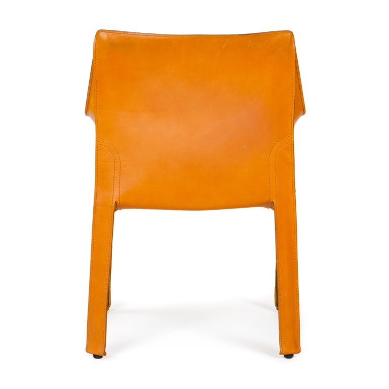 1970s Italian Cab Lounge Chair by Mario Bellini for Cassina For Sale 1
