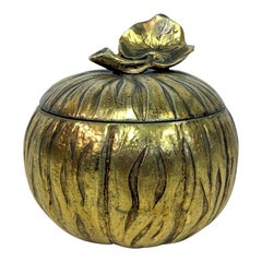 1970s Italian Ice Bucket in the Shape of a Squash