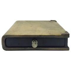 1970s Italian Parchment Book Box by Aldo Tura
