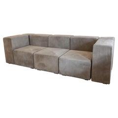 1970s Italian Sistema 61 Sofa Design by Giancarlo Piretti for Anonima Castelli