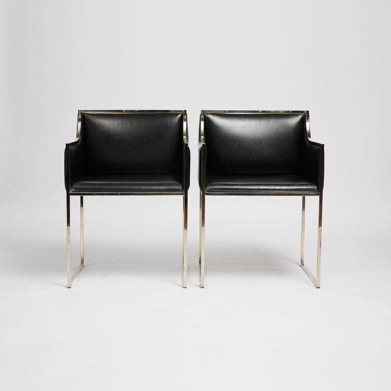 Mid-Century Modern 1970s Italian Vintage Chairs For Sale