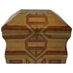 1970s Karl Springer Leather Box