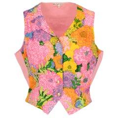 1970s Ken Scott Printed Vest