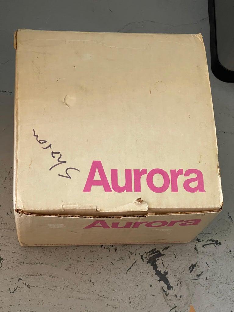 1970's Kirsch Hamilton Aurora Clock with Original Box For Sale 8