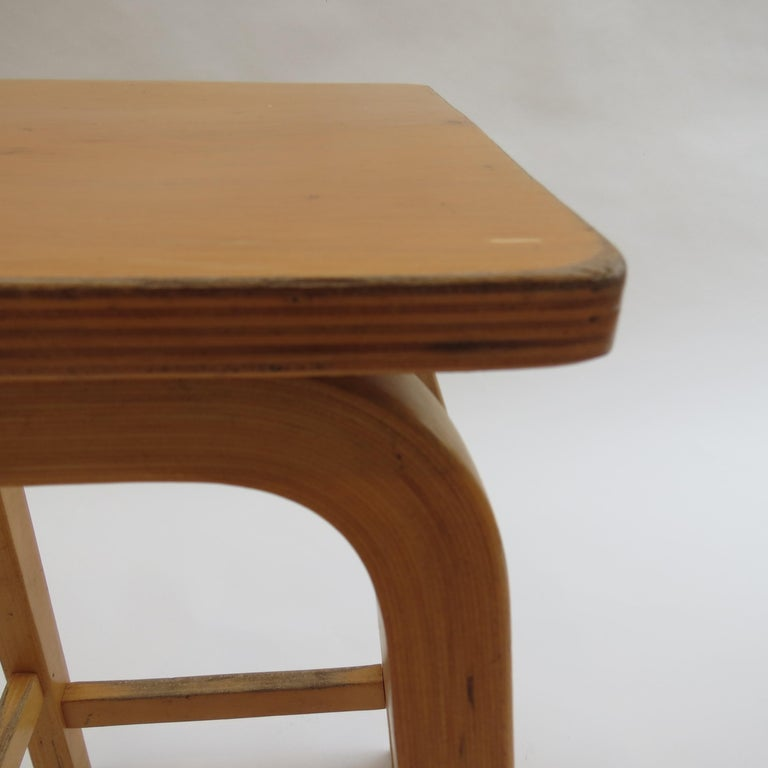 1970s Laboratory School Stools by James Leonard for Esavian, UK In Good Condition For Sale In Stow on the Wold, GB