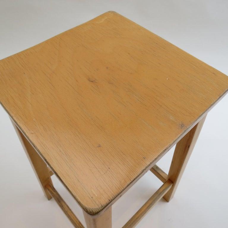 1970s Laboratory School Stools by James Leonard for Esavian, UK For Sale 1