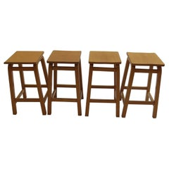 1970s Laboratory School Stools by James Leonard for Esavian, UK