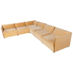 1970s Landeau Modular Sofa by Mario Bellini for Cassina